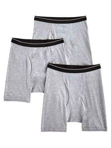 John Blair® Cotton Knit Boxer Briefs