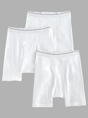 John Blair® Cotton Knit Boxer Briefs 3-Pack - Image 2 of 2