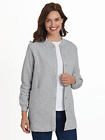 Long Snap-Front Jacket