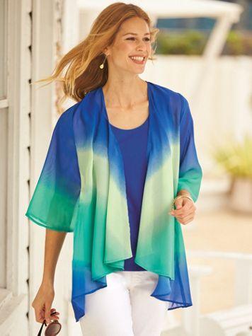 Shenanigans® Tie-Dye Cardigan - Image 0 of 2