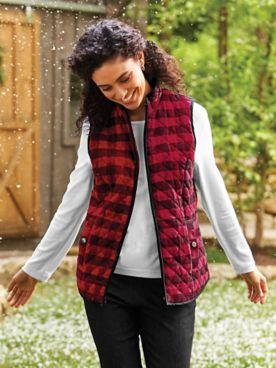 Cozy Sherpa-Lined Vest