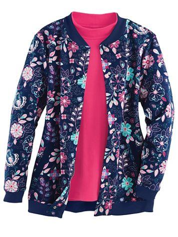 Print Fleece Jacket - Image 3 of 3