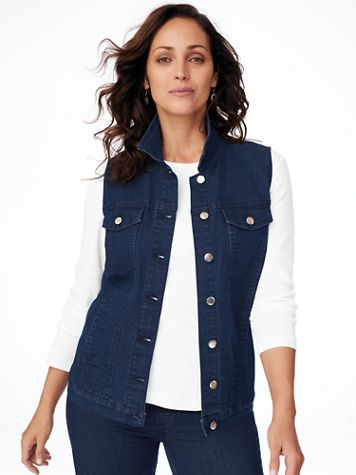 Denim Vest - Image 1 of 4