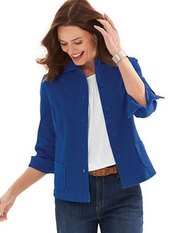 Soft Denim Jacket - Image 1 of 4