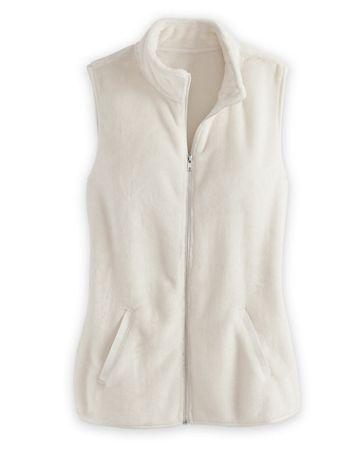 Cozy Plush Fleece Vest - Image 1 of 4