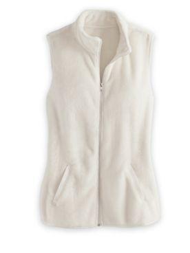 Cozy Plush Fleece Vest