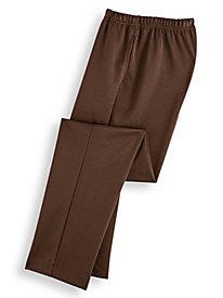 Plain Front Ponté Pants
