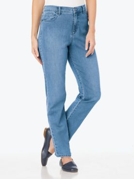 Amanda Stretch-Fit Jeans by Gloria Vanderbilt