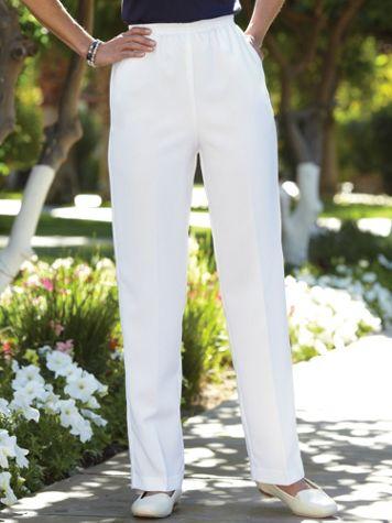 No-Iron Poplin Pants  - Image 0 of 1