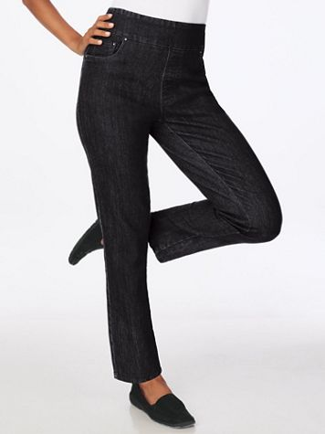 Flat Waist Embellished Jeans - Image 5 of 5