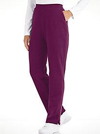 Zip Pocket Fleece Pants