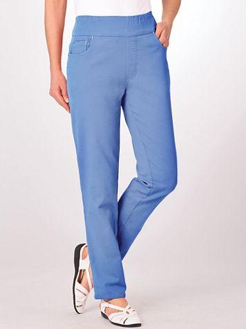 Flat-Waist Boot-Cut Jeans  - Image 10 of 11