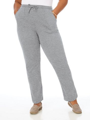 Essential Knit Drawstring Pull-On Pants - Image 1 of 9