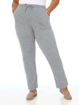 Essential Knit Drawstring Pull-On Pants