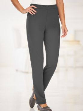 Knit Comfort Slim Leg Pants
