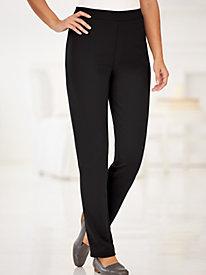 Knit Comfort Slim Leg Pants