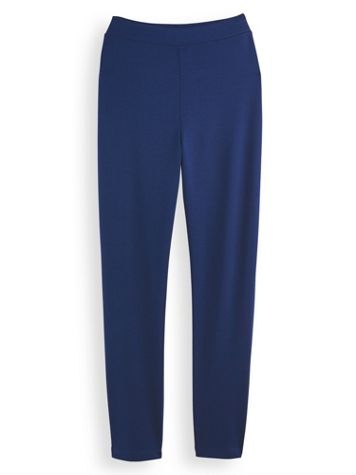 Knit Comfort Slim Leg Pants - Image 0 of 2