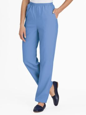 No-Iron Poplin Pants