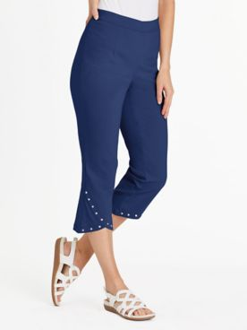 Supreme Silhouette Slimmers® Pull-On Capris