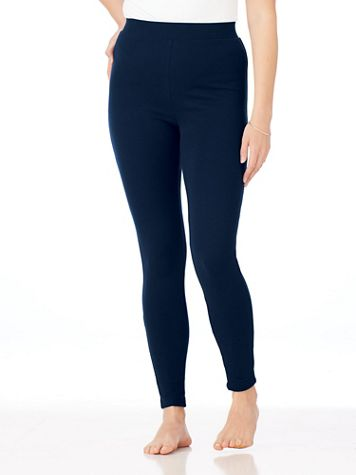 Knit Stretch Leggings - Image 1 of 9