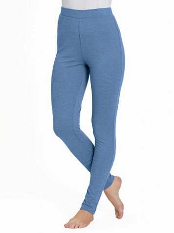 Stretch Knit Leggings - Image 1 of 8