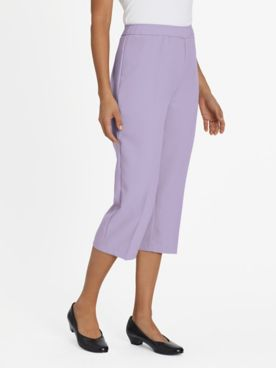 Pull-On Bend Over® Capris