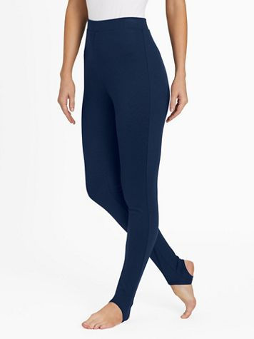 Knit Stirrup Pants - Image 1 of 7