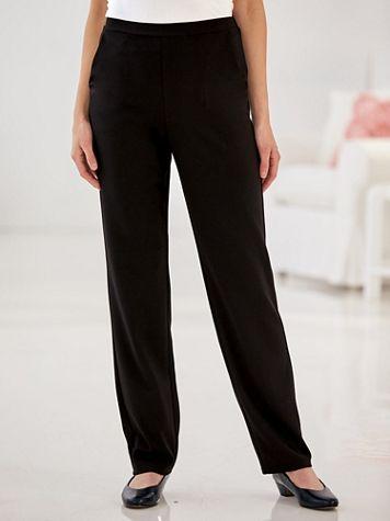 Knit Crepe Pants - Image 1 of 5