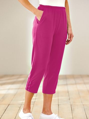 Essential Knit Capris - Image 1 of 2