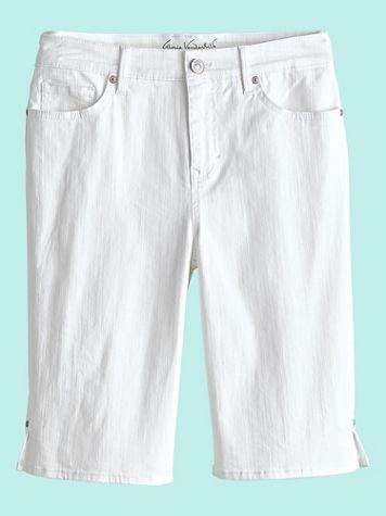 Gloria Vanderbilt® Bermuda Denim Shorts
