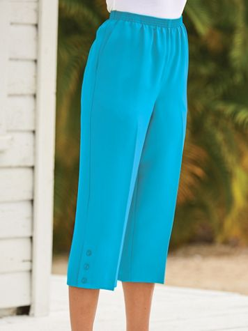 Alfred Dunner® Button Capris