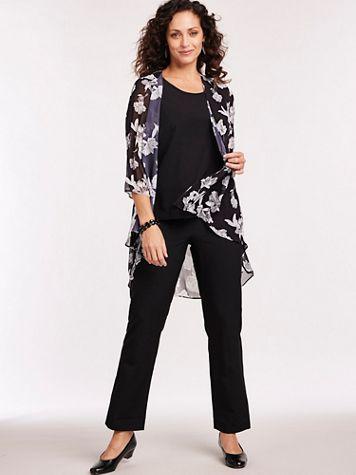 Elisabeth Williams® Three-Piece Duster Pants Set - Image 1 of 1