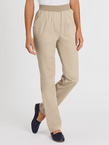 Pull-On Comfort Waistband Pants - Image 1 of 5