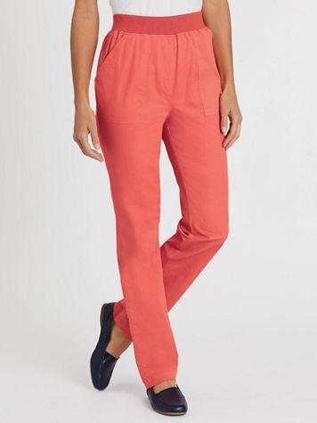 Pull-On Comfort Waistband Pants - Image 3 of 3