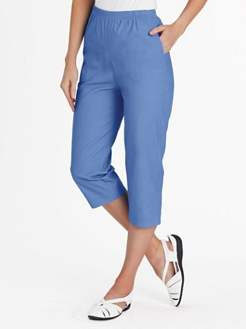 Stretch TropiCool Pull-On Capris - Image 5 of 7