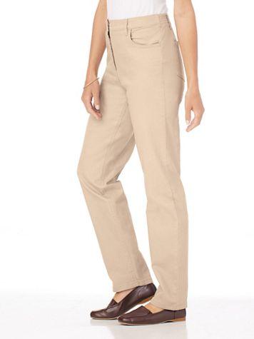 DenimEase™ Back-Elastic Jeans - Image 1 of 10