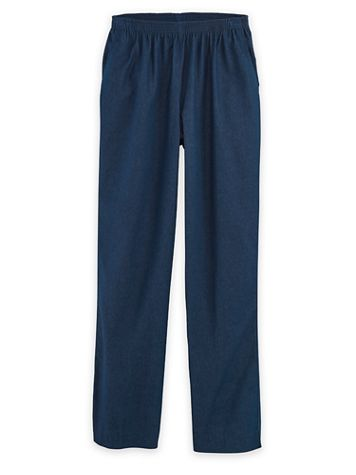 Alfred Dunner® Denim and Twill Jeans - Image 1 of 3