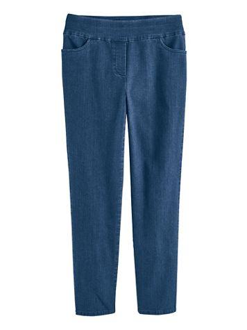 Alfred Dunner Super-Stretch Denim Pants - Image 1 of 3