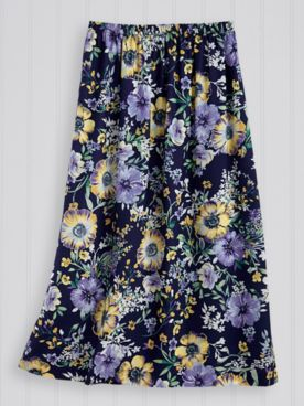 Elisabeth Williams® Challis Skirt