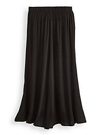 Elisabeth Williams® Print Challis Skirt