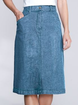 Denim-Eze Skirt