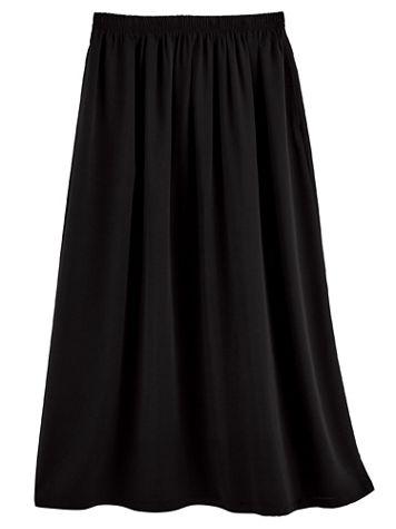 Elisabeth Williams® Print Challis Skirt - Image 3 of 5