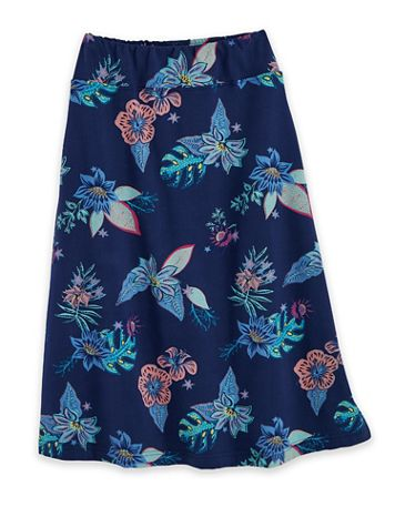 Pull-On Print Knit Skirt - Image 2 of 2