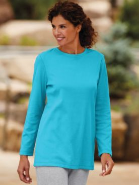 Fresh Long-Sleeve Tunic