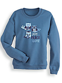 Novelty Print Sweatshirt