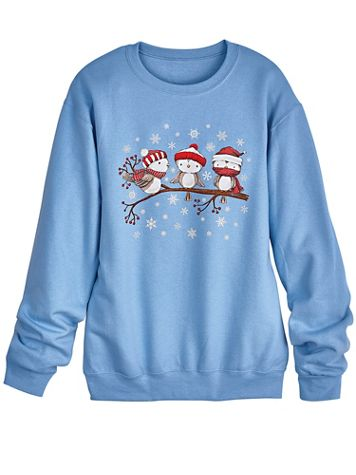 Graphic Fleece Sweatshirt - Image 2 of 2