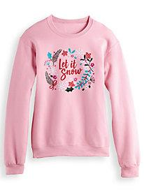 Novelty Print Sweatshirt