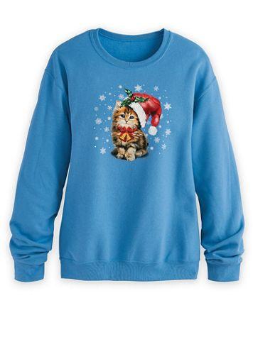 Graphic Fleece Sweatshirt - Image 1 of 23