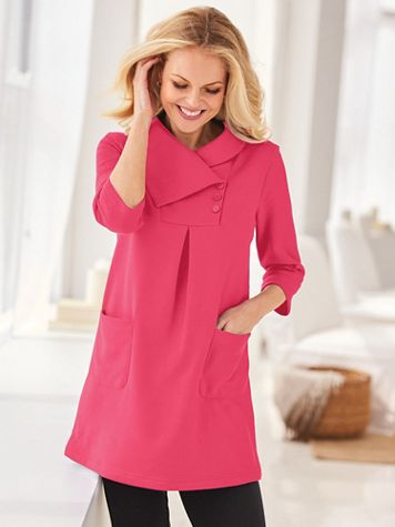 Lightweight Fleece Tunic - Image 1 of 4