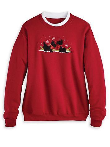 Holiday Embroidered Sweatshirt - Image 1 of 6